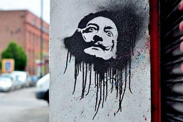 Граффити на улицах Бристоля (37 фото) за 23 июня 2009