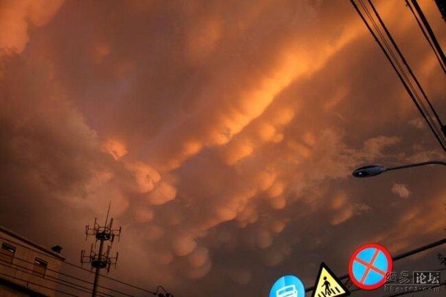 Очень необычное небо (17 фото)