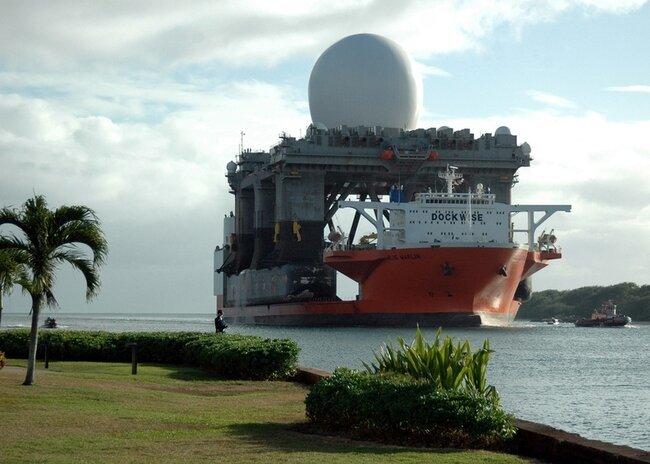 Штатовский морской радар X-band (13 фото)