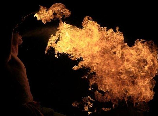 Немного про огонь (13 фото)