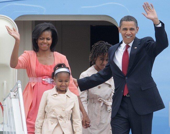 Барак Обама в Москве (10 фото)