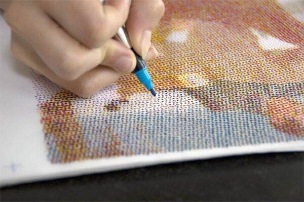 Точечные рисунки фломастером (8 фото)