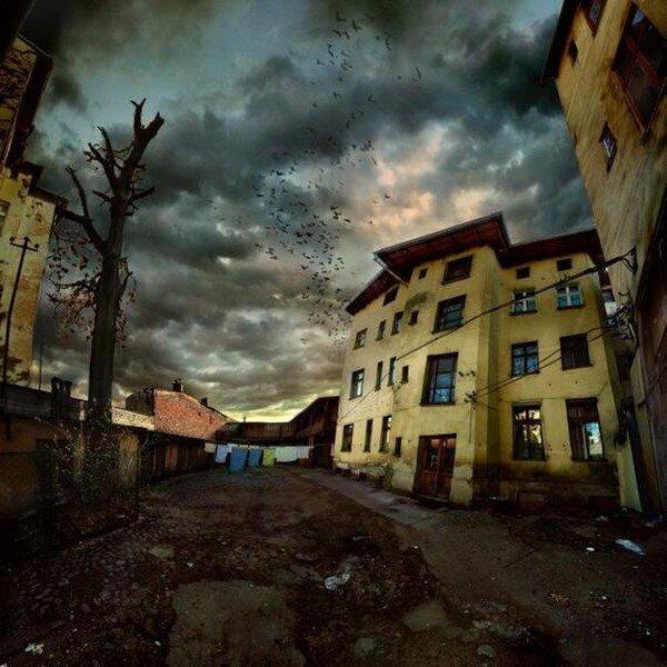 Мрачные HDR работы (22 фото)