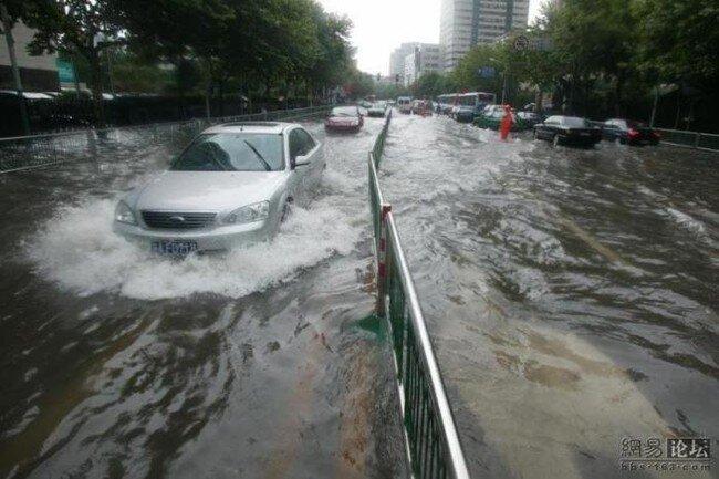 Китай пережил потоп (8 фото)