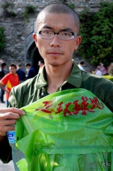 Акция Greenpeace в Китае (7 фото)