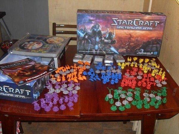 Настольная игра Starcraft (43 фото)