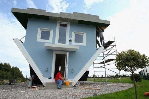 Дом вверх дном (8 фото)
