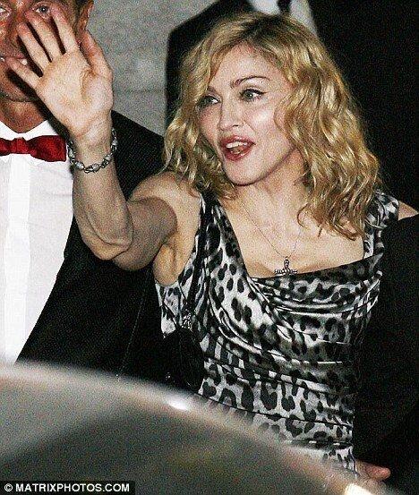 Мадонна понемногу сдувается (3 фото)
