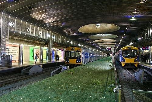 Травка на вокзале (3 фото)