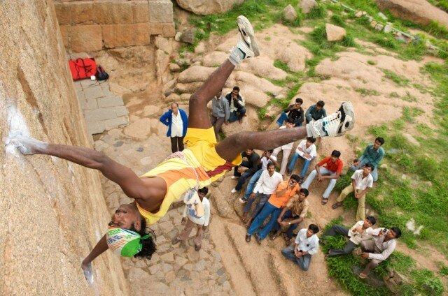 Спайдер-мэн из Индии (6 фото)