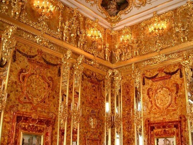 Янтарная комната (7 фото)