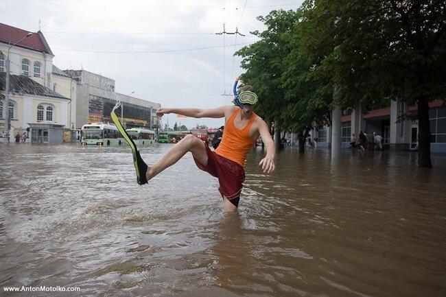 Большой потоп в Минске (148 фото)