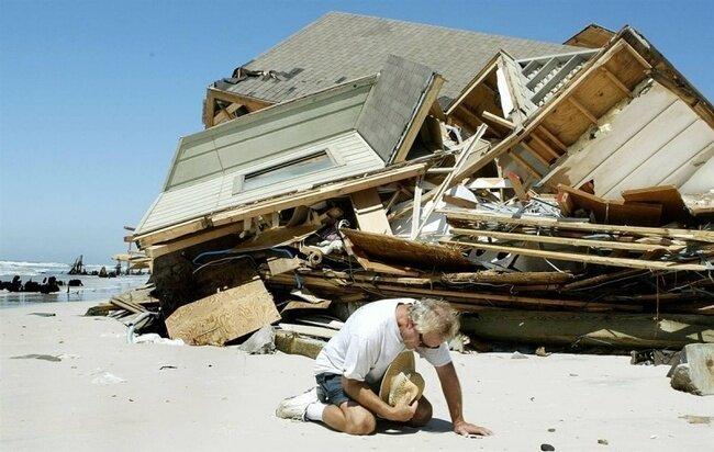 Самые страшные ураганы в истории США (30 фото + текст)