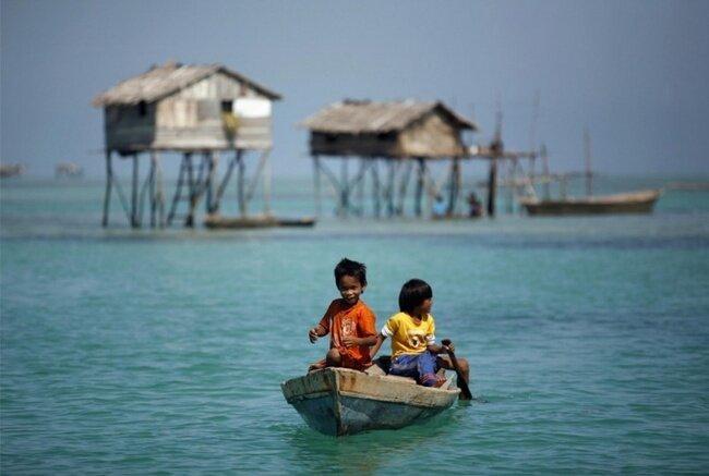 Морские цыгане с острова Борнео (10 фото)