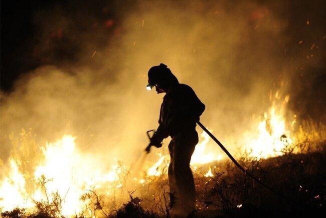 Пожары в Средиземноморье (35 фото)