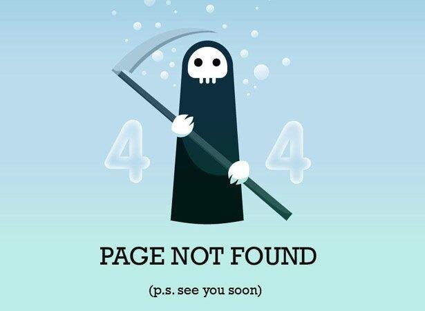 Креативные страницы 404 (48 фото)