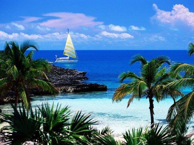 Карибские острова - Рай на Земле (18 фото)