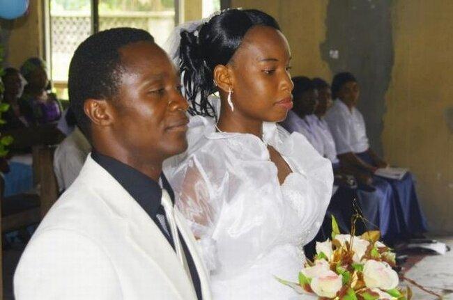 Свадьба в Африке (20 фото)