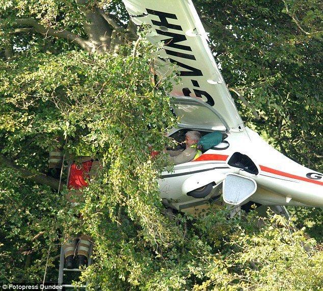 Удачное приземление (3 фото)