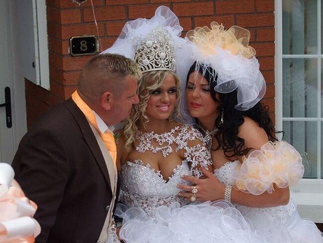 Забавная Свадьба (10 фото)