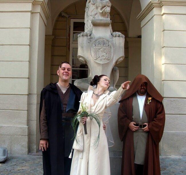 """Свадьба на тему """"Звёздные войны"""" (43 фото)"""