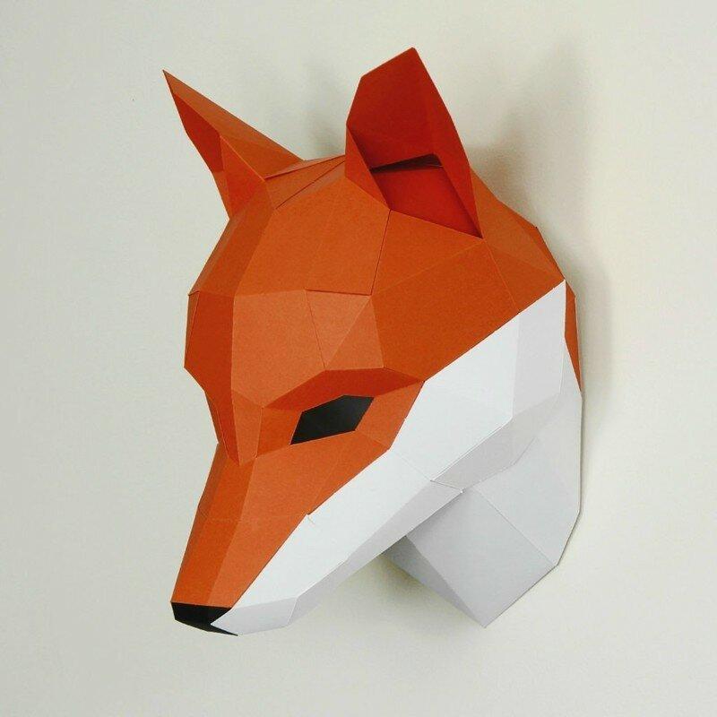 Крутые 3D маски для мероприятий от Steve Wintercroft
