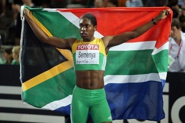 Южноафриканская бегунья Кастер Семеня (21 фото)