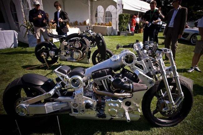 High Tech мотоциклы (8 фото)