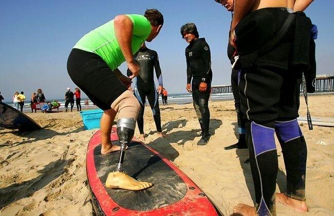 AMPSURF - инвалиды на сёрфигне  (19 фото)