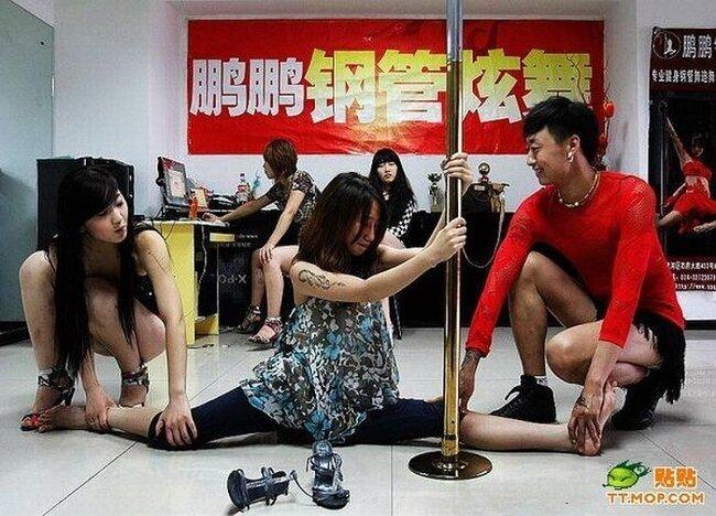 Танцовщицы из Китая (10 фото)