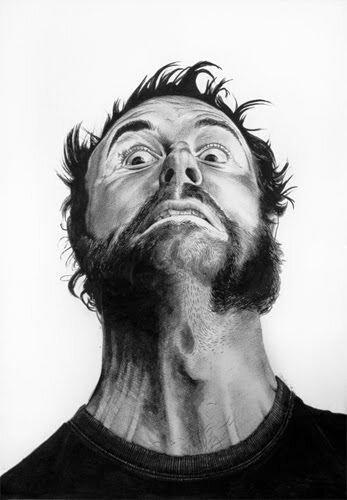 Рисунки лиц от руки (4 фото)
