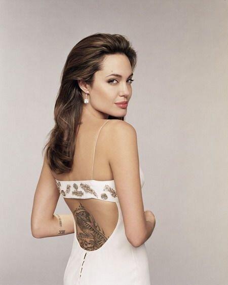 Татуировки Анджелины Джоли (5 фото)