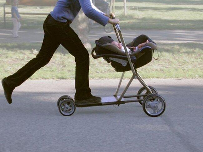 Новое изобретение колясок (6 фото)