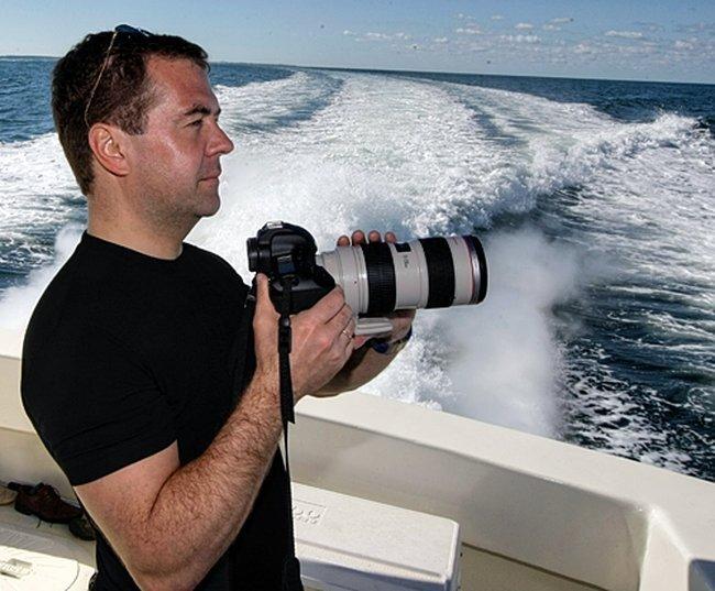 Фотоработы Дмитрия Медведева (74 фото)
