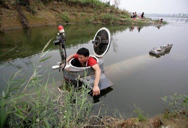 Капитан Тао или Тридцать тысяч юаней под водой (4 фото)