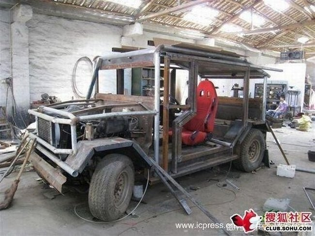 Китайский самодельный автомобиль (35 фото)