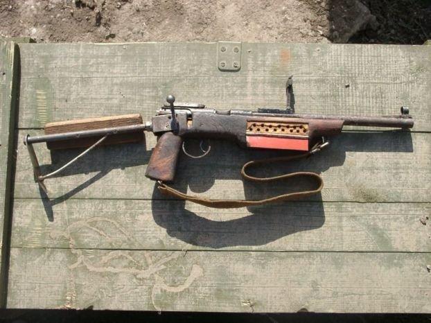 Самодельное оружие Чеченских боевиков (13 фото)