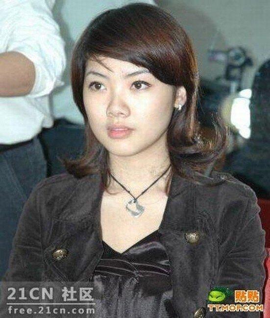 Азиатская девочка с бритой головой (5 фото)