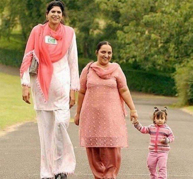 Самые высокие женщины в мире (7 фото)