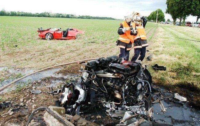 Страшные аварии (15 фото)