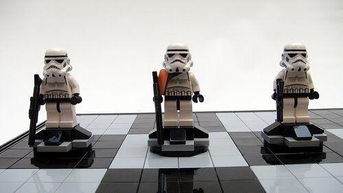 Лего + Звёздные войны = шахматы (7 фото)