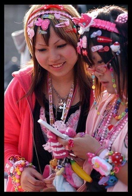 Модная улица в Японии (41 фото)
