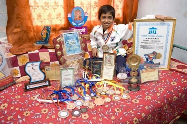 Девятилетний Рохан Аджит Кокан (4 фото)