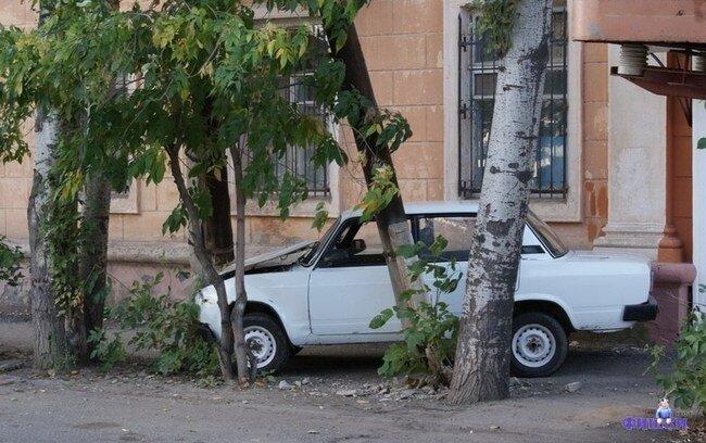 Парковка по Астрахански! (8 фото)