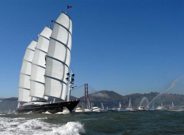 Буржуйская Яхта за 100 млн. баксов (26 фото)