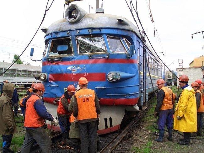 Железнодорожные проишествия (24 фото)