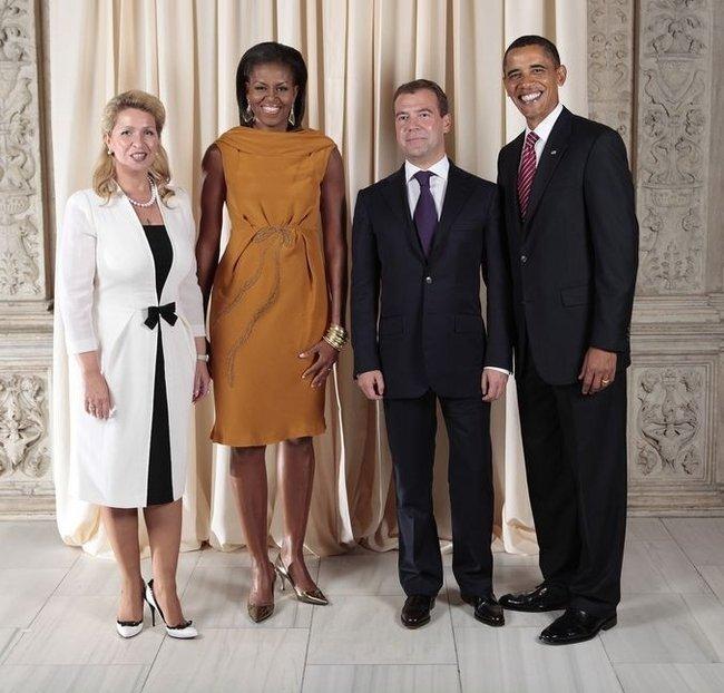 Удивительная улыбка Барака Обамы (40 фото + анимация)