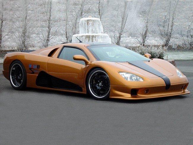 Десять самых быстрых автомобилей мира (10 фото)