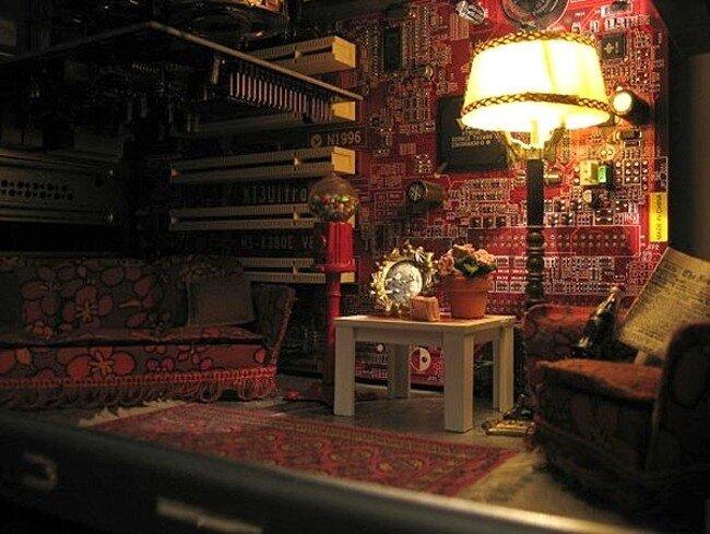 Компьютерная комната (3 фото)
