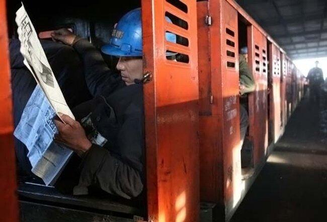 Китайские шахтеры (24 фото)